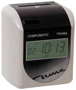 COMPUMATIC TR440d ELECTRONIC TIME CLOCK